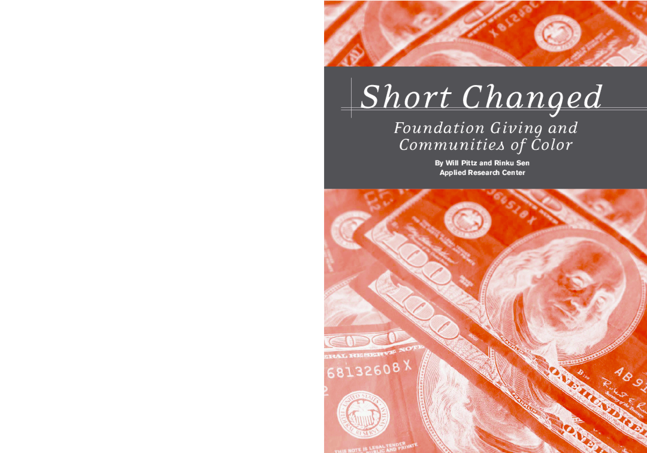 Short Changed: Foundation Giving and Communities of Color