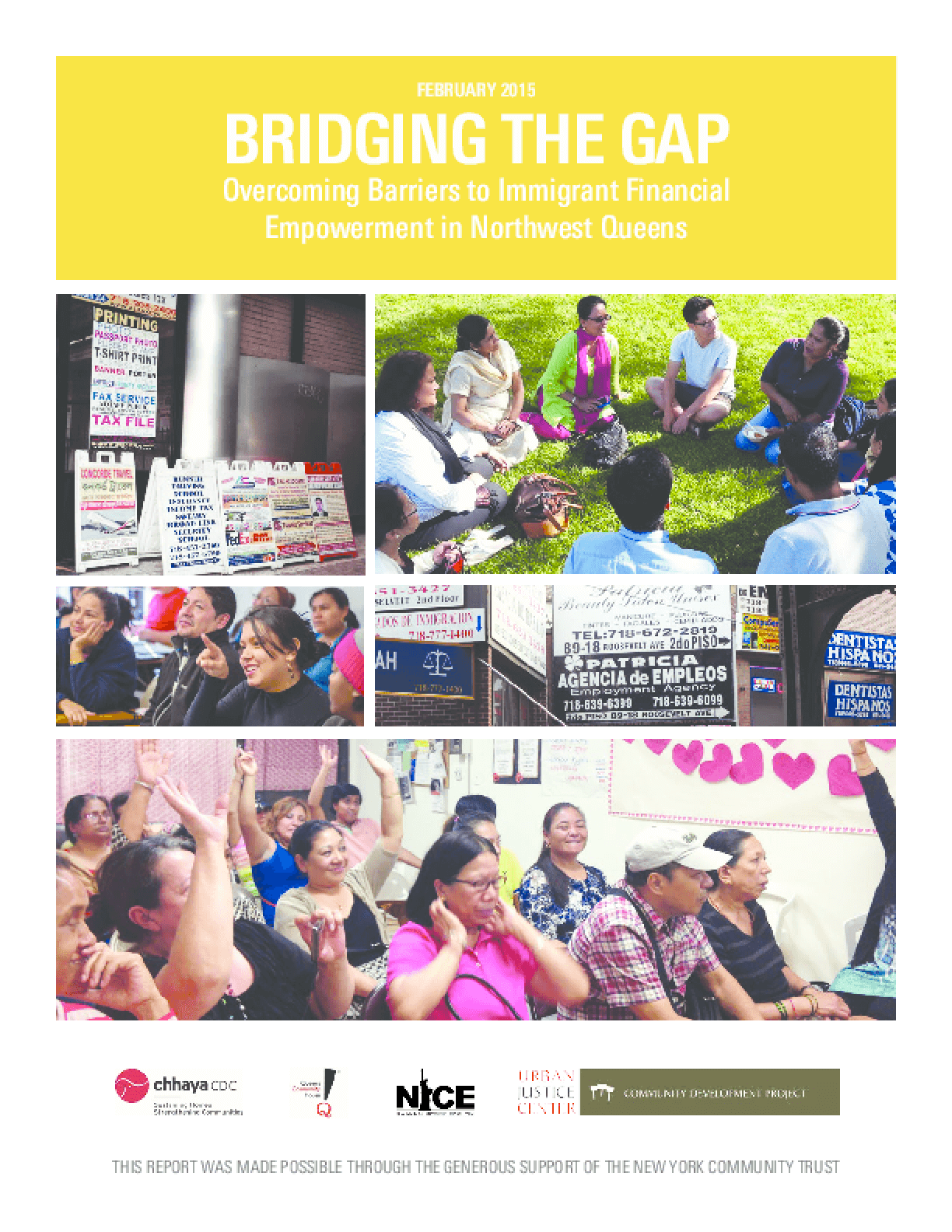 Bridging the Gap: Overcoming Barriers to Immigrant Financial Empowerment in Northwest Queens