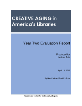Creative Aging in America's Libraries: Year Two Evaluation Report