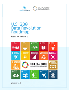 U.S. SDG Data Revolution Roadmap