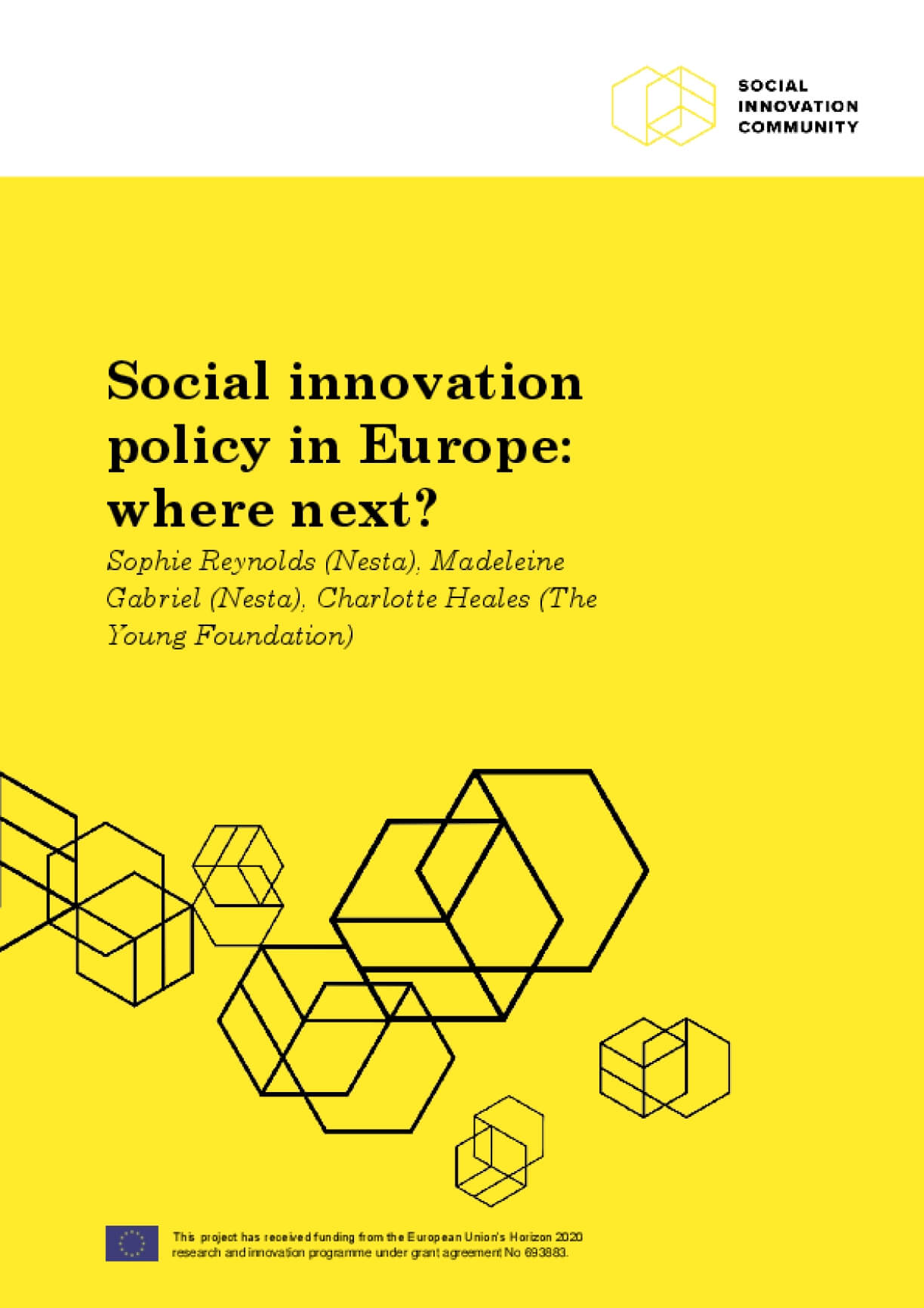 Social Innovation Policy In Europe: Where Next?