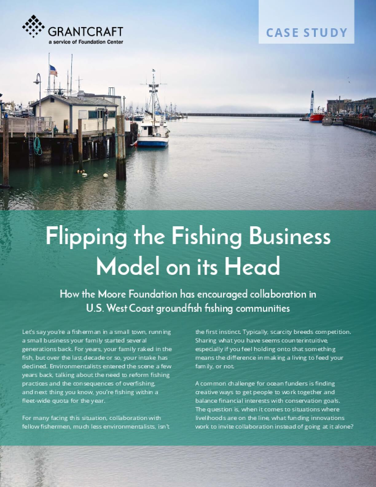 Flipping the Fishing Business Model on its Head
