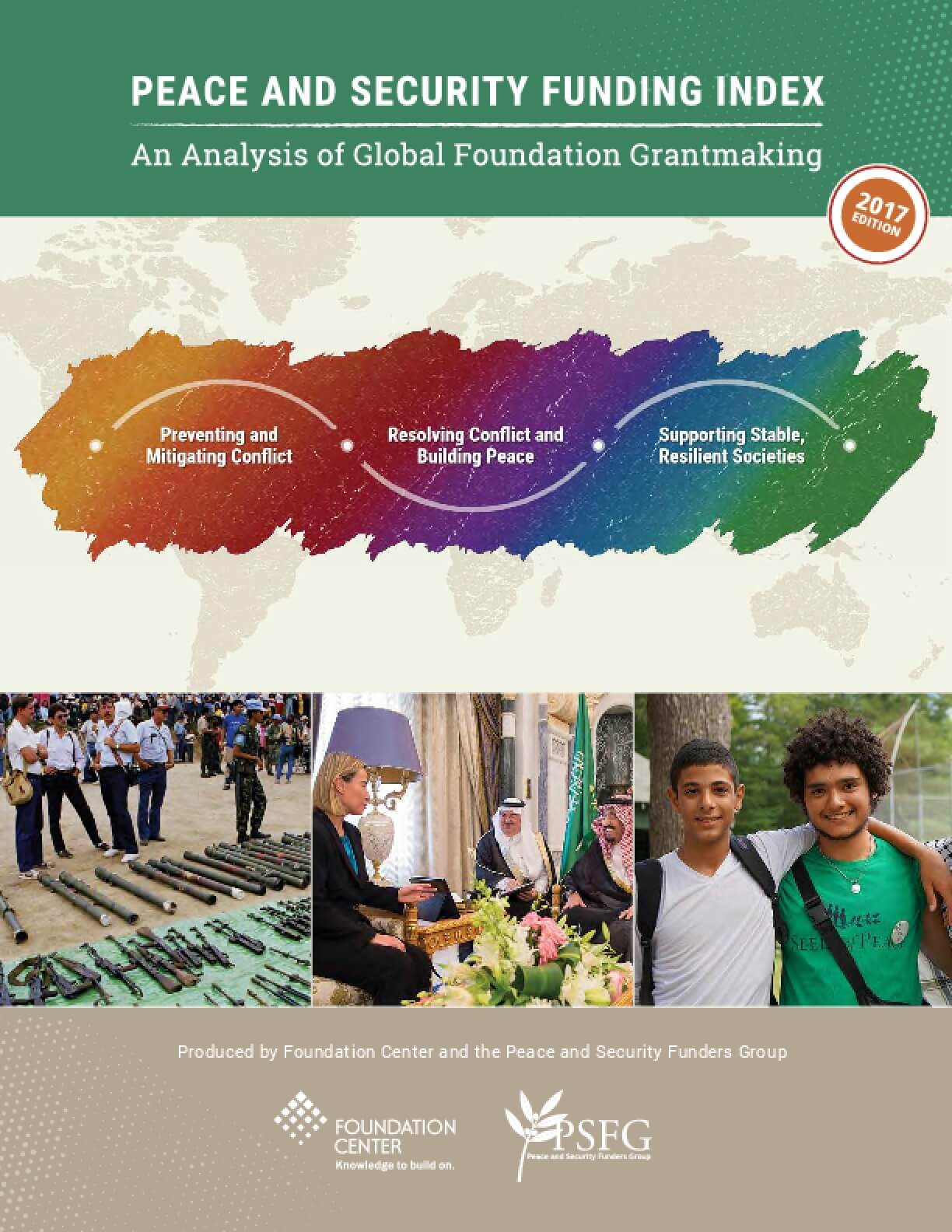 Peace and Security Funding Index: An Analysis of Global Foundation Grantmaking - 2017 Edition
