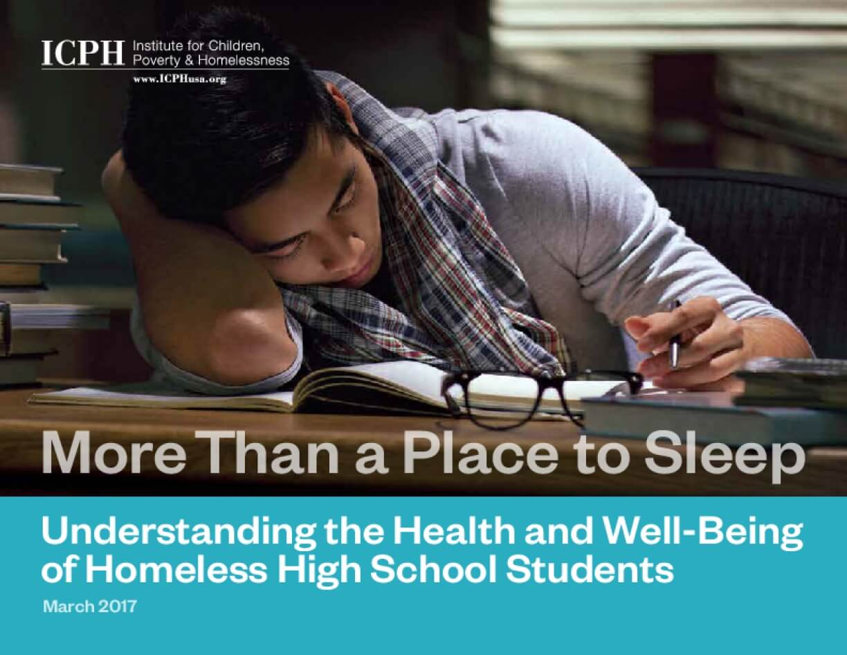 More Than a Place to Sleep: Understanding the Health and Well-Being of Homeless High School Students