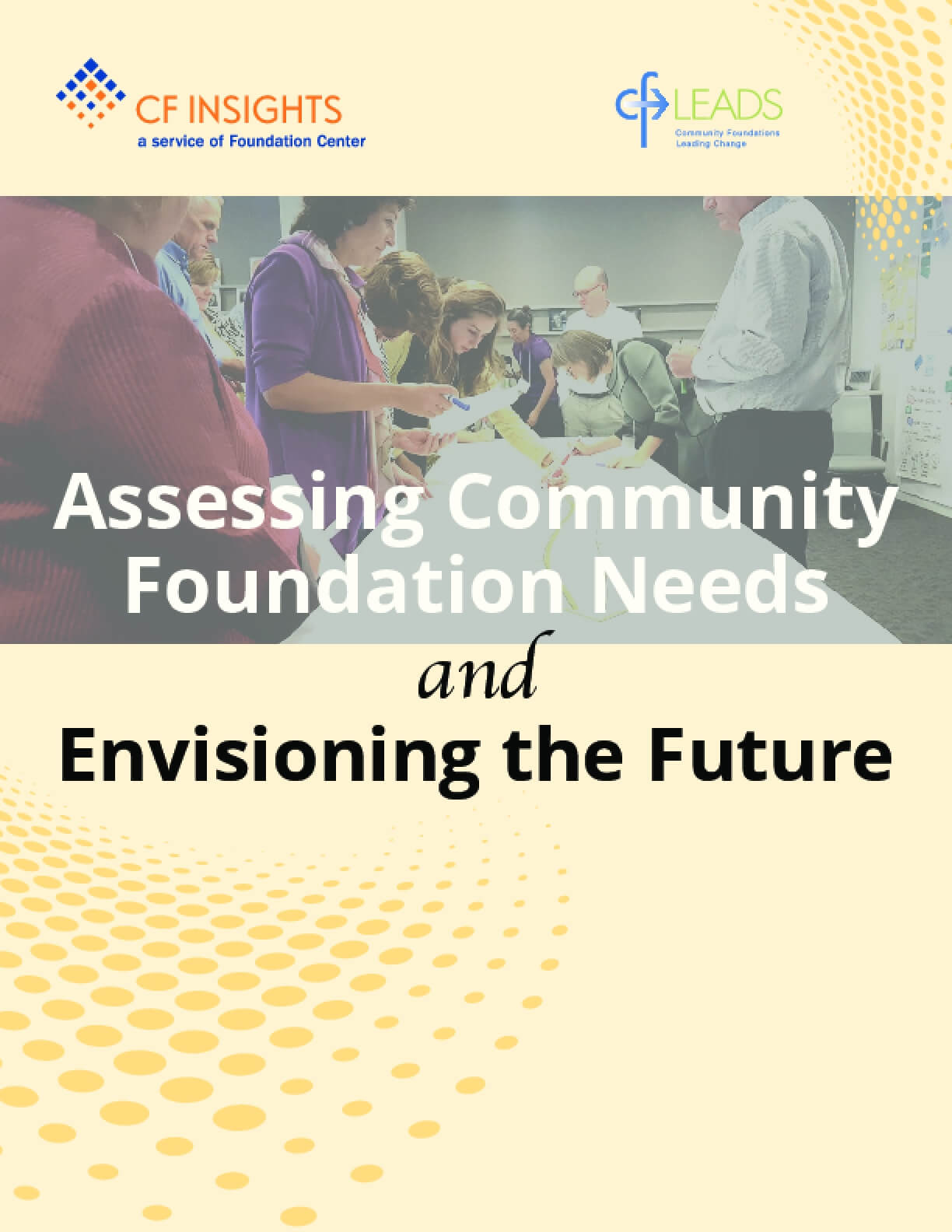 Assessing Community Foundation Needs and Envisioning the Future