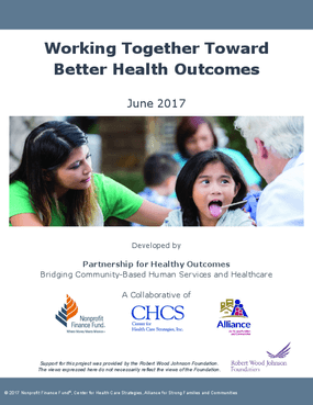 Working Together Toward Better Health Outcomes