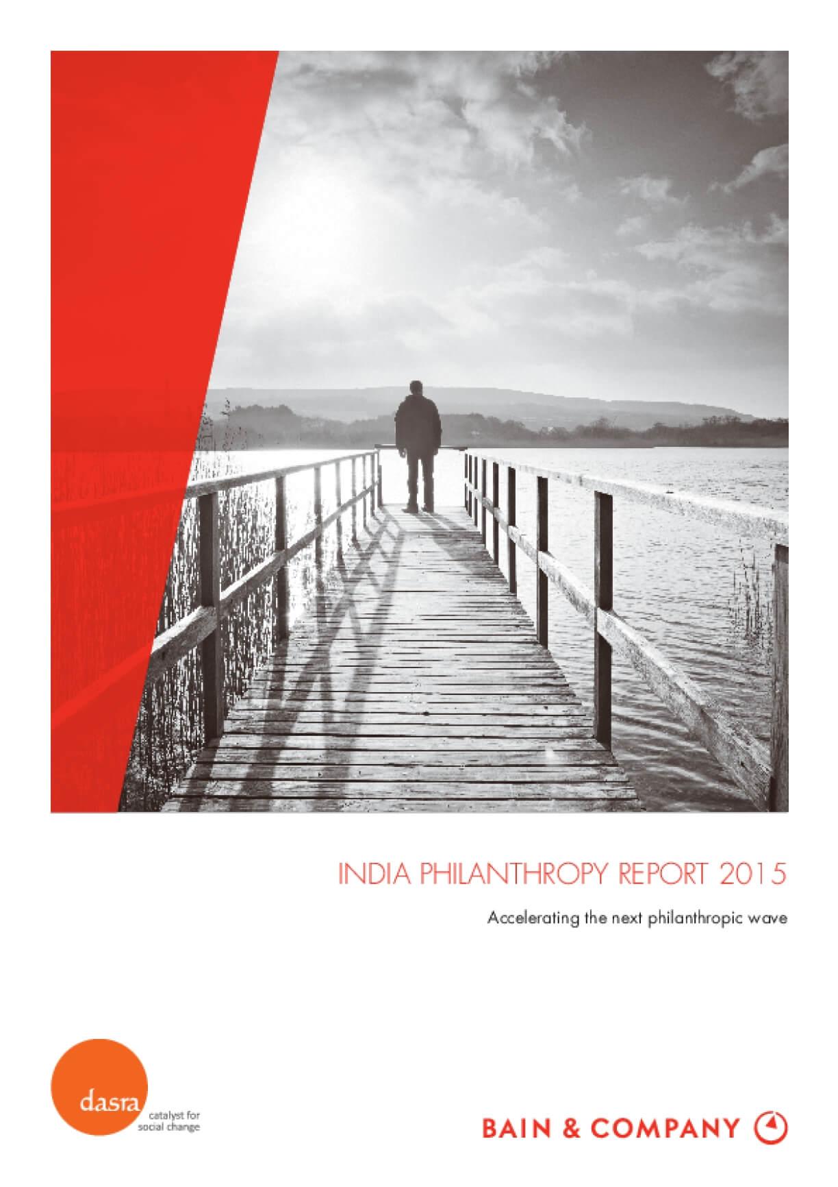 India Philanthropy Report 2015