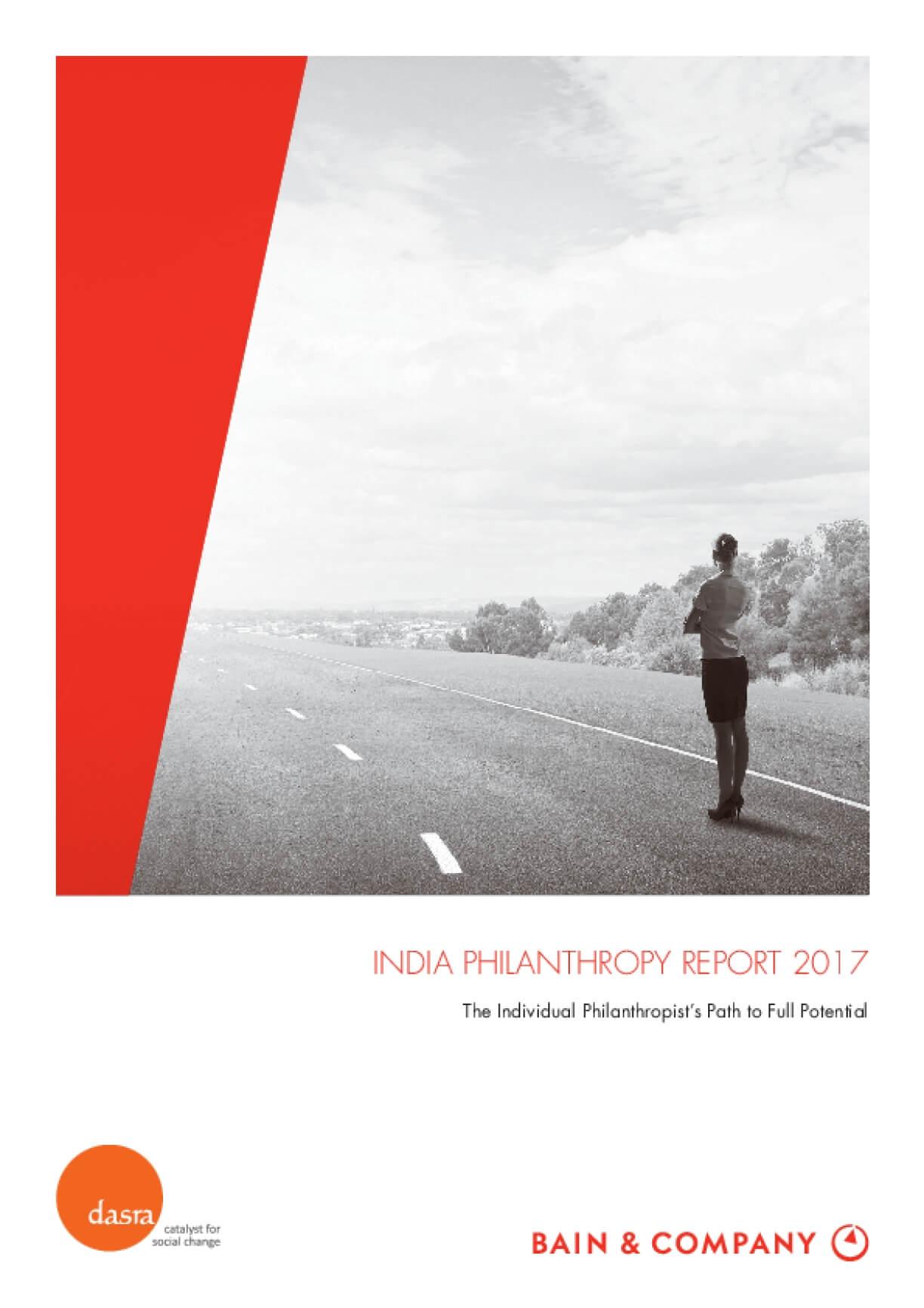 India Philanthropy Report 2017