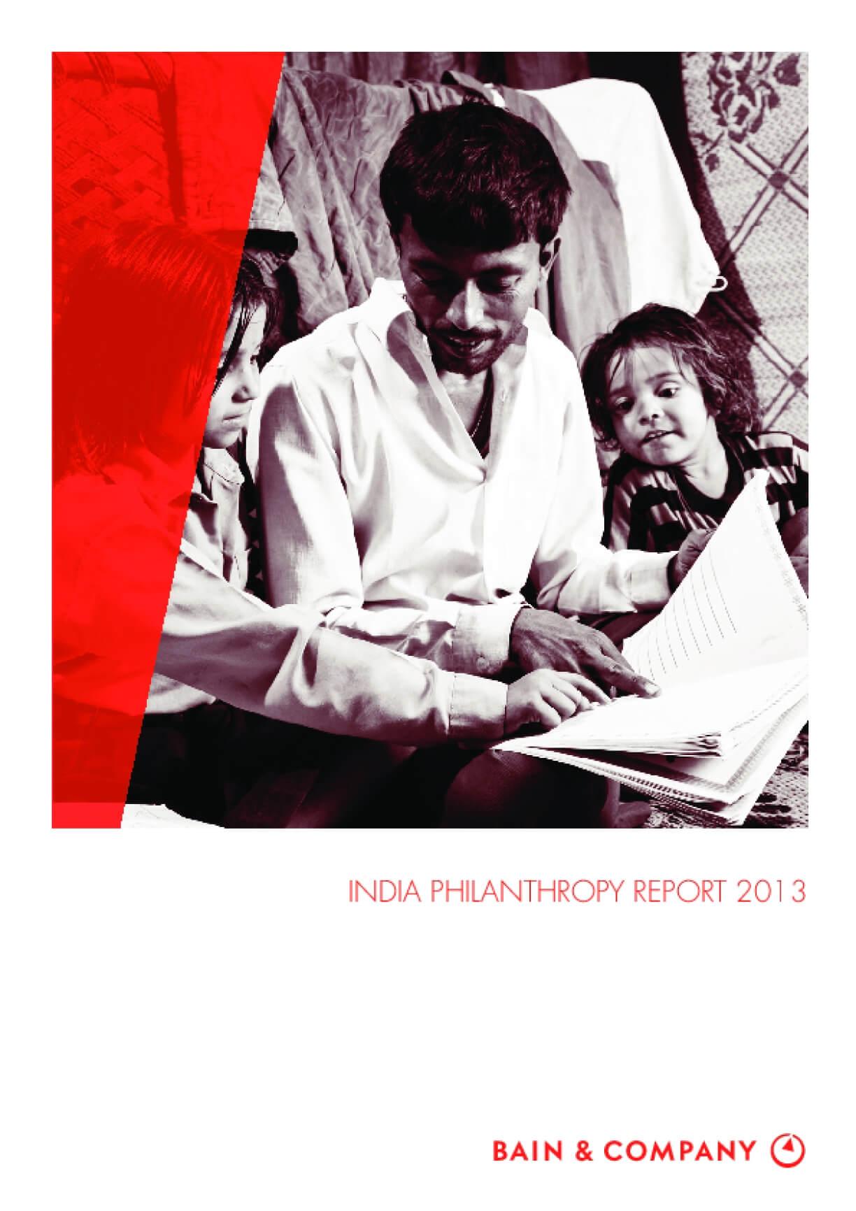 India Philanthropy Report 2013