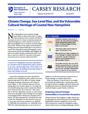 Climate Change, Sea-Level Rise, and the Vulnerable Cultural Heritage of Coastal New Hampshire