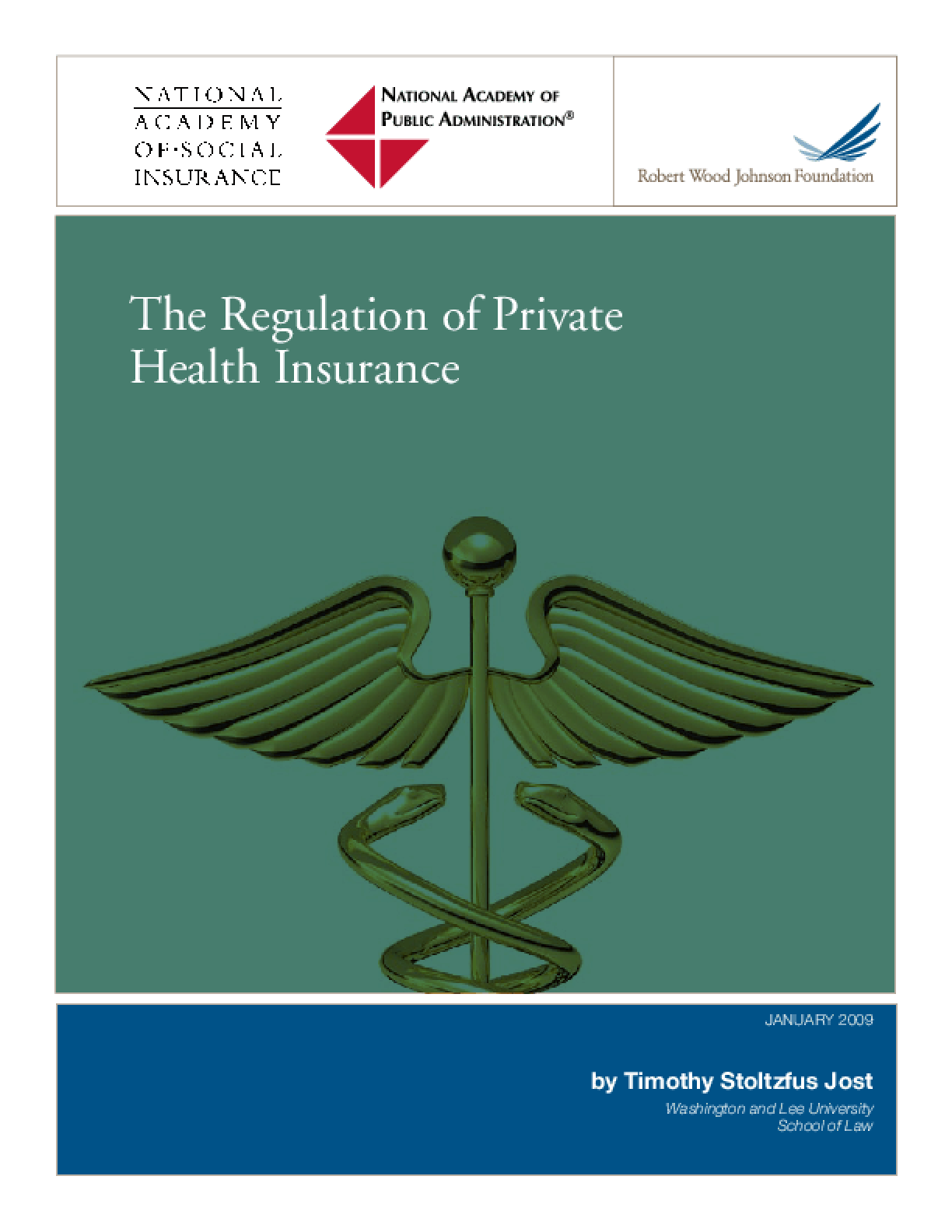 The Regulation of Private Health Insurance