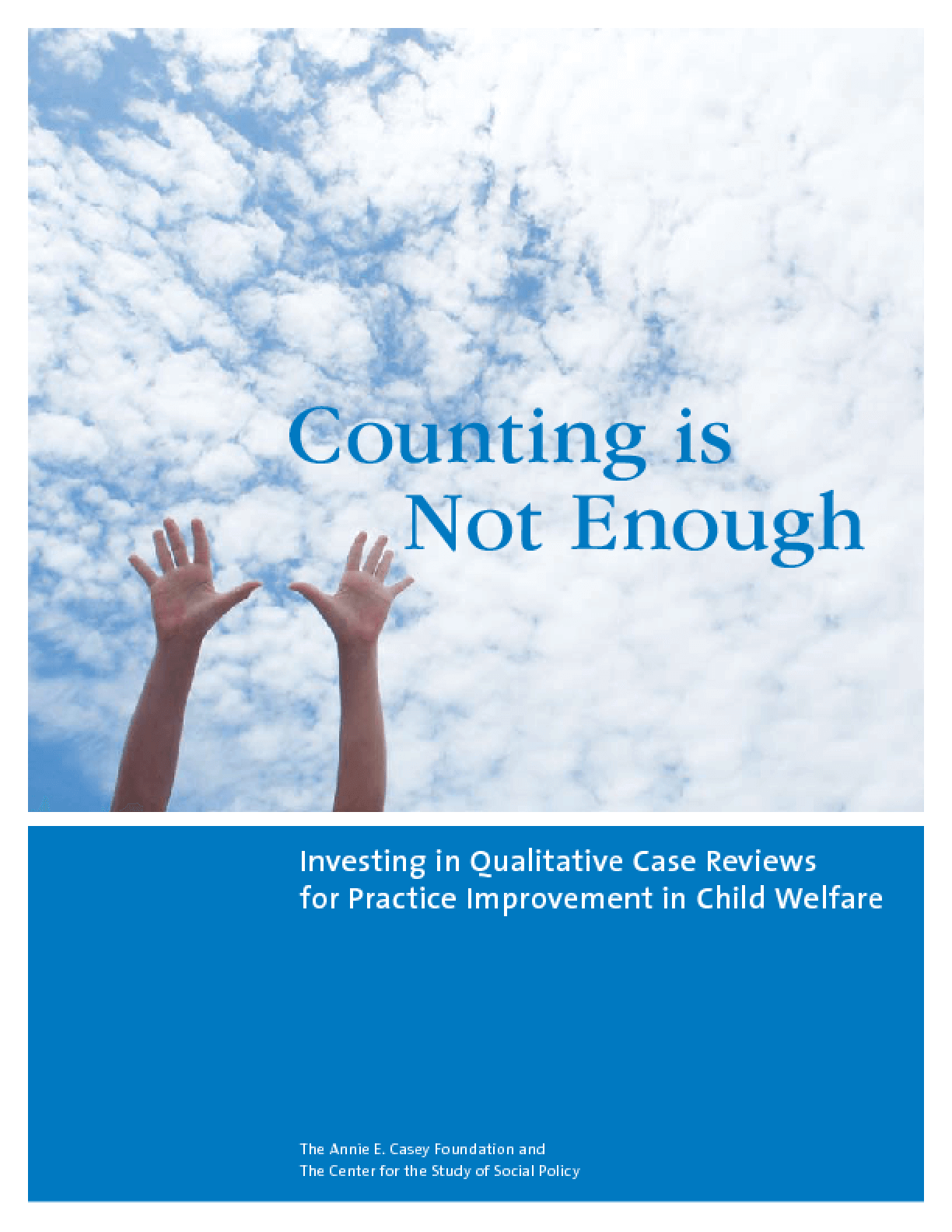 Counting Is Not Enough: Investing in Qualitative Case Reviews for Practice Improvement in Child Welfare