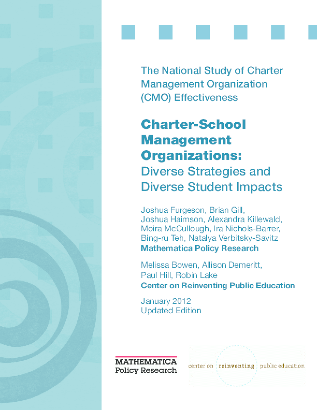 Charter-School Management Organizations: Diverse Strategies and Diverse Student Impacts