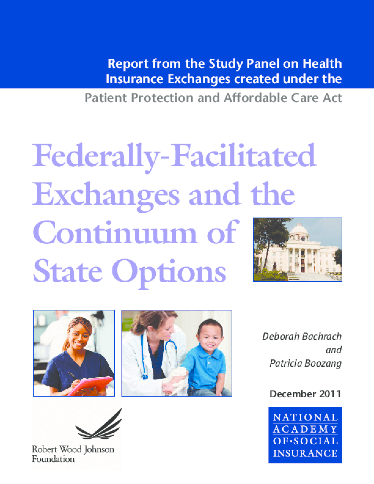 Federally-Facilitated Exchanges and the Continuum of State Options