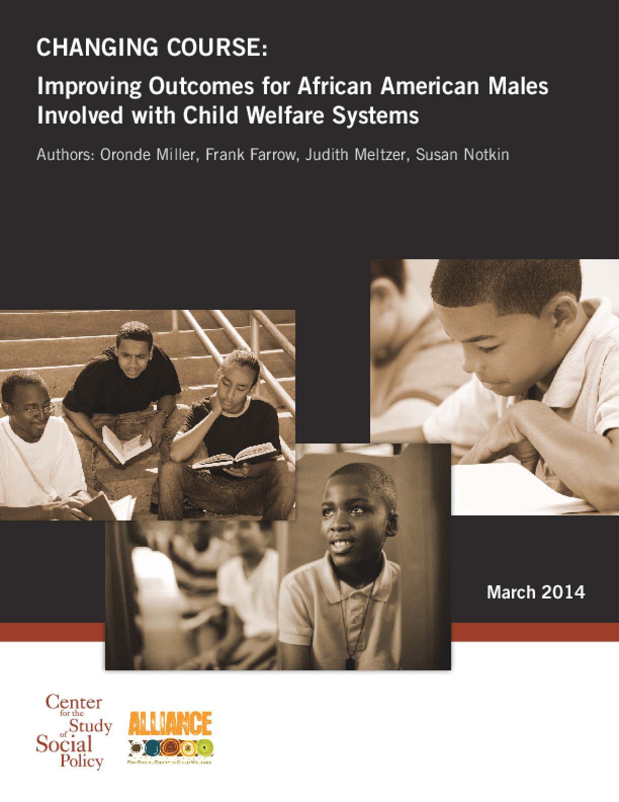 Changing Course: Improving Outcomes for African-American Males Involved With Child Welfare Systems