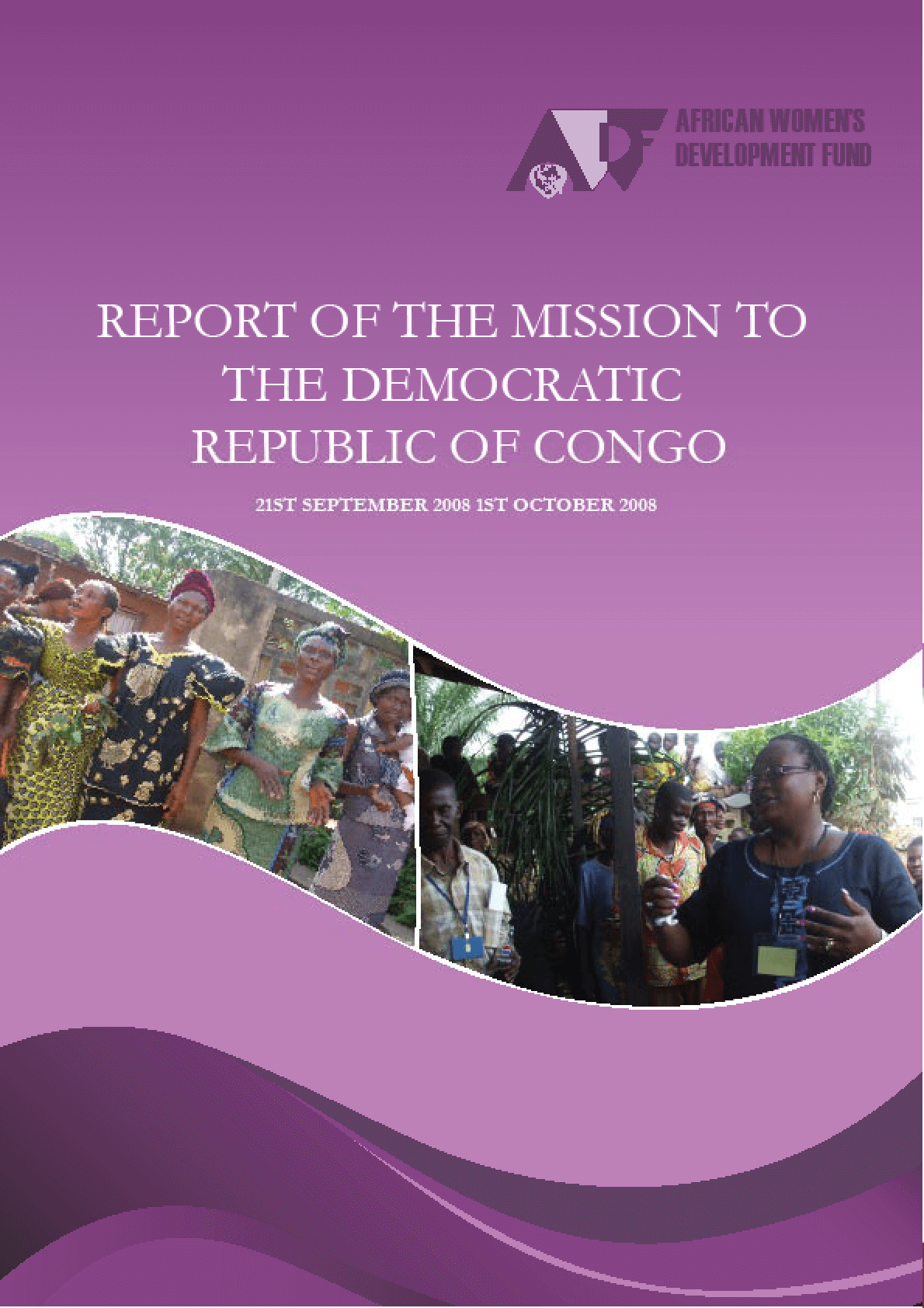 Report of the Mission to the Democratic Republic of Congo