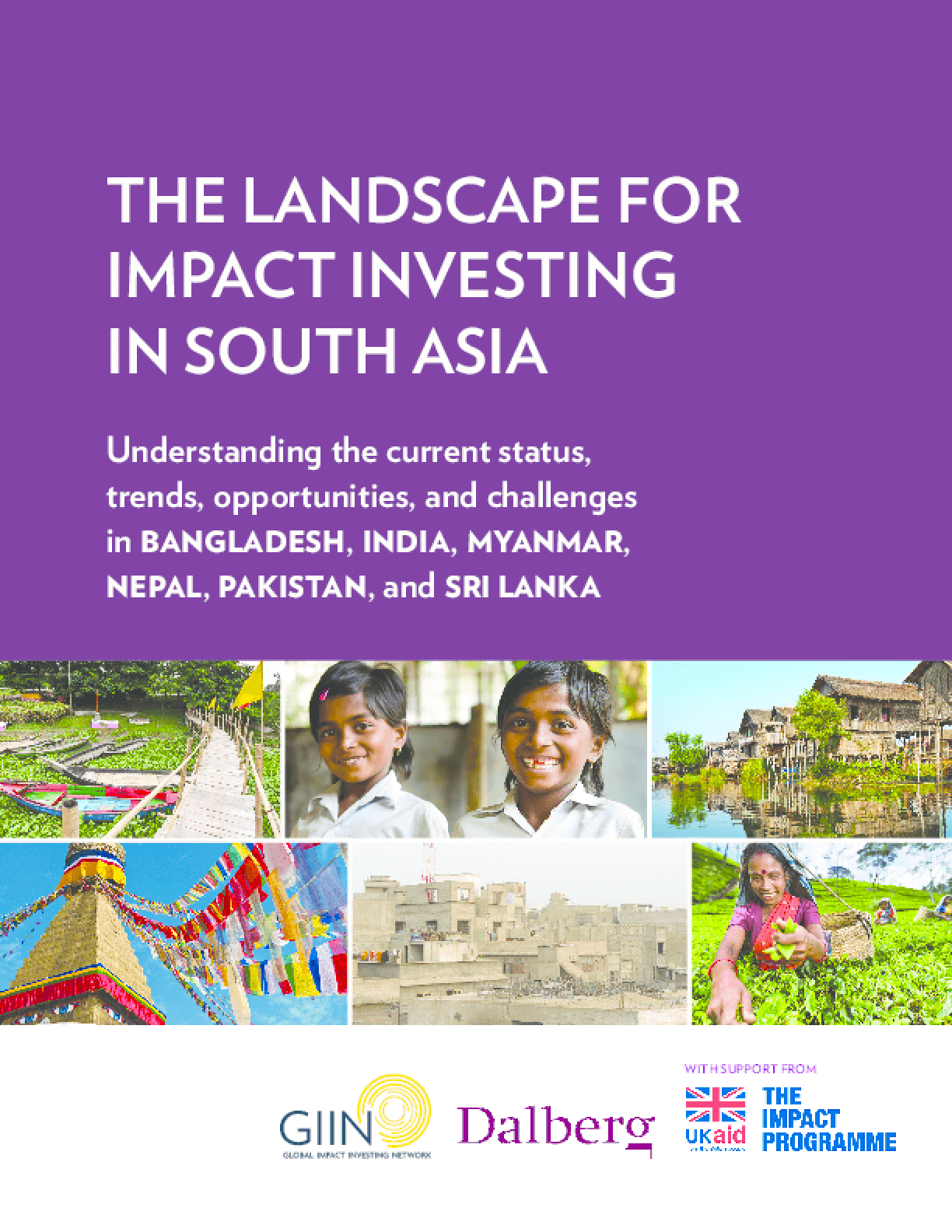 The Landscape for Impact Investing in South Asia