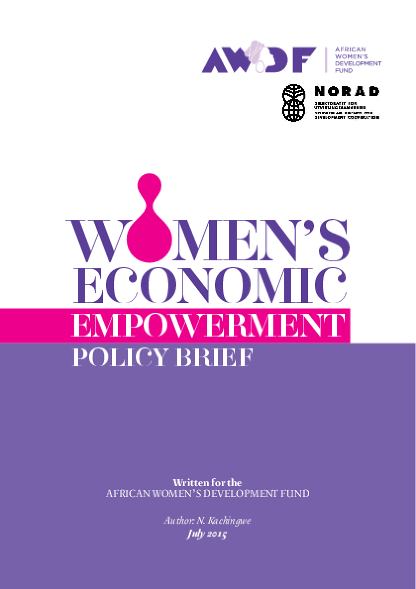 AWDF Women's Economic Empowerment Policy Brief
