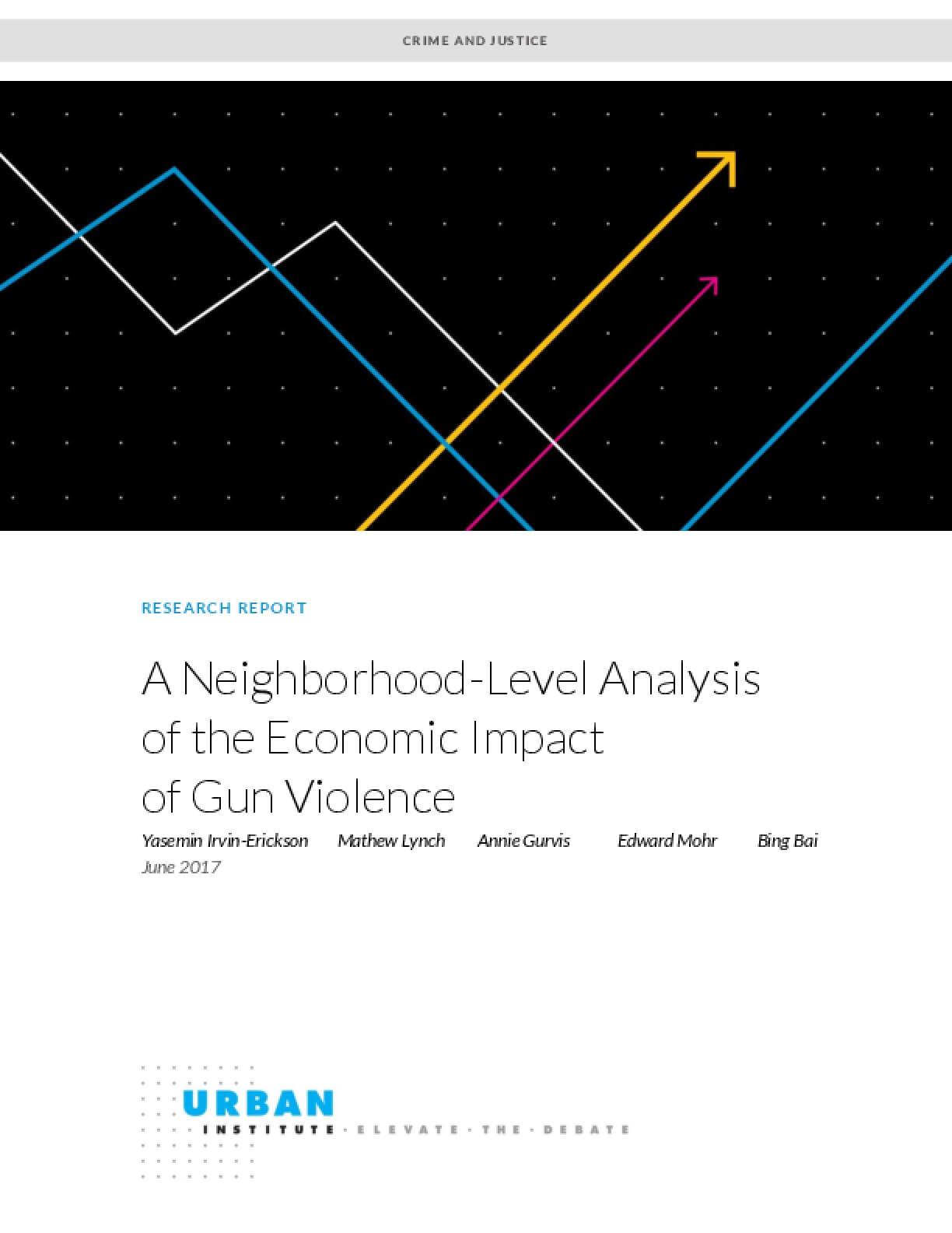 A Neighborhood-Level Analysis of the Economic Impact of Gun Violence