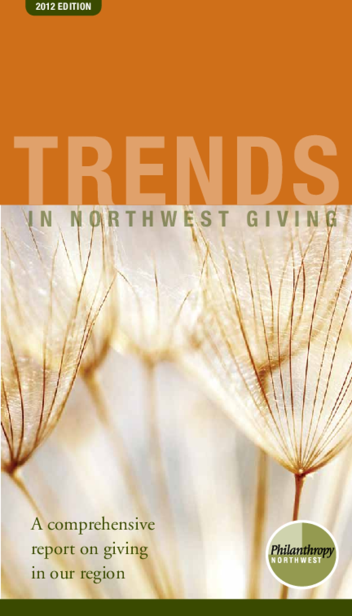 Trends in Northwestern Giving: A comprehensive report on giving in our region