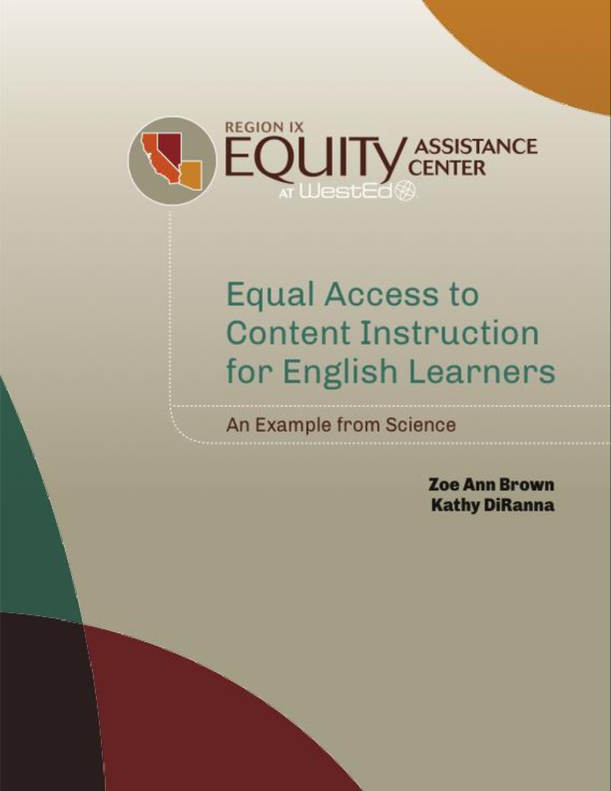 Equal Access to Content Instruction for English Learners: An Example From Science