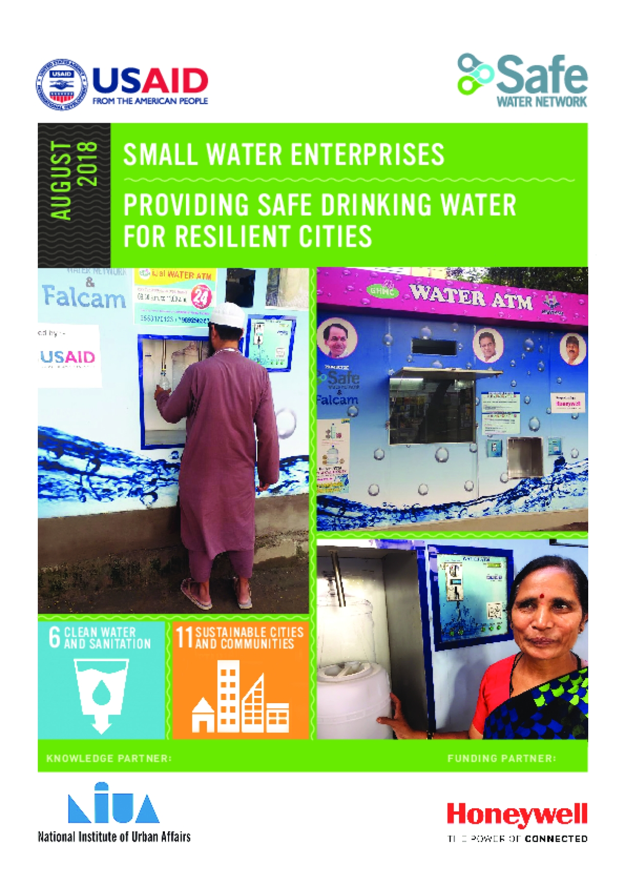 Small Water Enterprises: Providing Safe Drinking Water for Resilient Cities Report