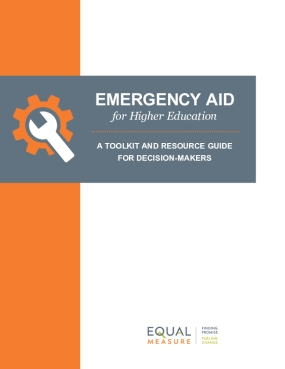 Emergency Aid For Higher Education: A Toolkit and Resource Guide for Decision-makers