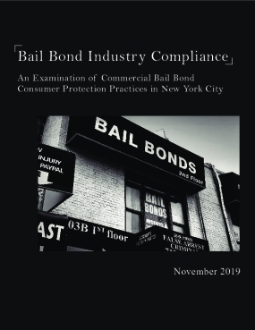Bail Bond Industry Compliance: An Examination of Commercial Bail Bond Consumer Protection Practices in New York City