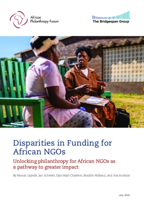 Disparities in Funding for African NGOs: Unlocking philanthropy for African NGOs as a pathway to greater impact